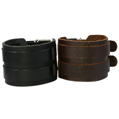 Leather Cuffs and Bands