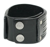 Double Layered, Stranded Leather Cuff with Snap Close (B064)