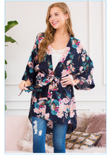 Load image into Gallery viewer, Floral Robe Kimono