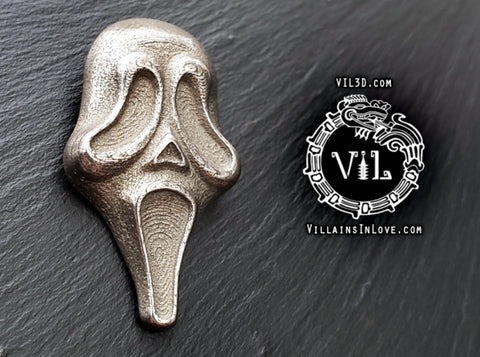 KNB Scream Pendant ⛧ VIL ⛧ 3d printed