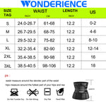 Wonderience  Sauna Waist Trainer with Adjustable Belts Control