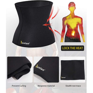 Neoprene Sauna Women Waist Trainer Trimmer Belt