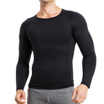 Wonderience Men Compression Long Sleeve Undershirt