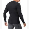 This wonderience men compression long sleeve undershirt back picture