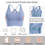Wonderience Strappy Wirefree Padded Sport Bra