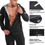 Wonderience Heat-Cycle Waterproof Hooded Tops with Zipper