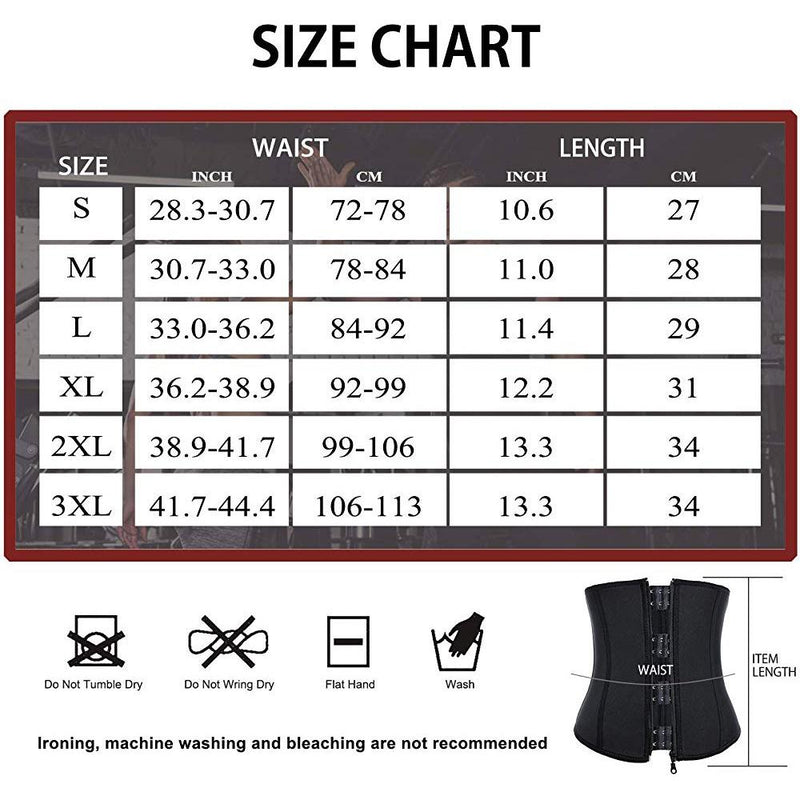 Men Fat Burner Waist Trainer Slimming Belt
