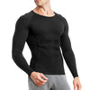 This wonderience men compression long sleeve undershirt main picture