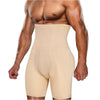 This is  main picture of the beige  junlan men high waisted boxer shorts