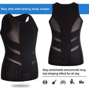Body Shaper Compression Shirt