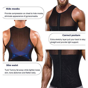 Belly Fat Slimming Compression Shirt