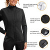 Junlan women sweat heat zipper sauna long sleeve detail picture
