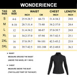 Wonderience Women Sweat Heat Zipper Sauna Jacket