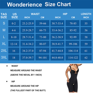 Wonderience High Waist Slimming Shapewear with Wide Strap