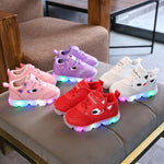 Luminous Sneakers LED Shoes Kids Toddler Baby Light Up Shoes Bright Sneakers Girs Boys Soft Cute Comfy Outdoor Sport Shoes Kids Sapato Infantil - LightUpLedShoes