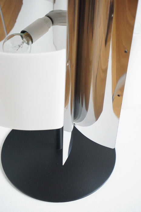 SALE / Italian Chrome Table Lamp