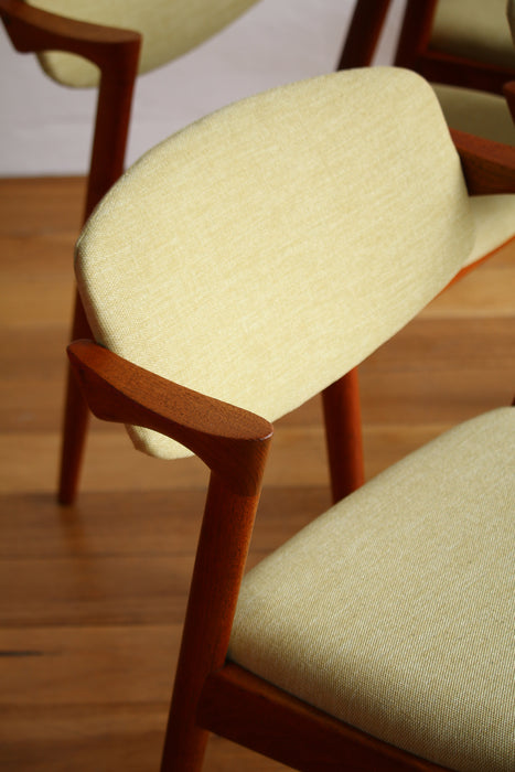 Kai Kristiansen Dining Chairs - 4