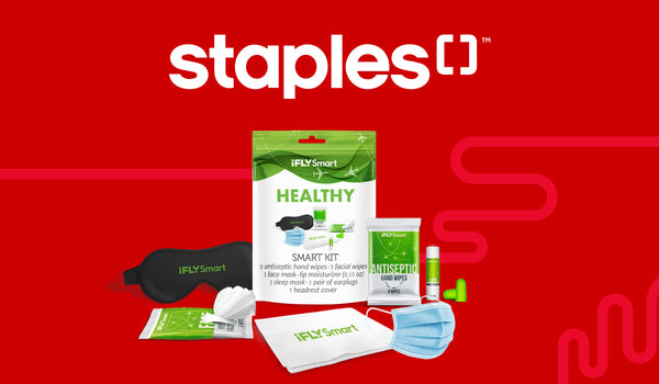 "iFLY Smart ""Clean Kits"" and ""Healthy Kits"" Now Available At Staples Stores"