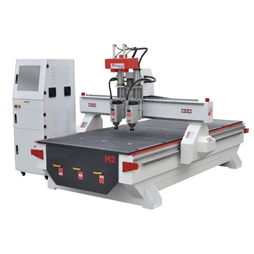 Two Spindles 4'x8' CNC Wood Router For cabinet with vacuum table - OSAIN CNC Router
