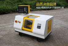 Load image into Gallery viewer, Micro CNC Lathe machine home Mini Cnc machine  tool Maker wood workshop laboratory tool