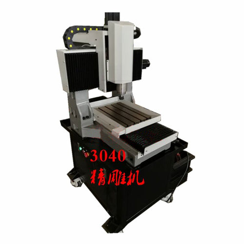 300X400mm home made casting iron frame cnc milling machine free shipping by sea - OSAIN CNC Router