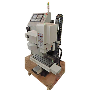 Tabletop 3 axis VMC420 Atc Cnc Milling Machine For Metal