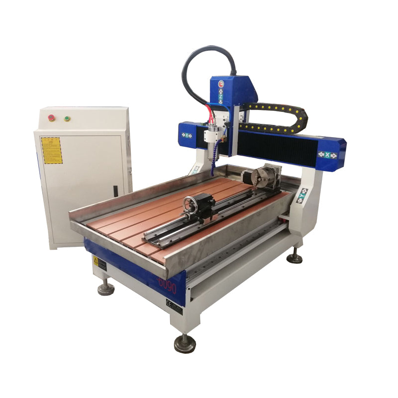 Desktop 4axis CNC Router with ISO20 Atc spindle for sale free shipping - OSAIN CNC Router
