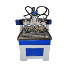 Load image into Gallery viewer, 4axis multi heads cnc wood router for sale free shipping by sea - OSAIN CNC Router
