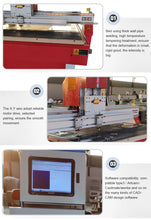 Load image into Gallery viewer, small size cnc glass cutting machine glass cnc cutter 4x4ft - OSAIN CNC Router