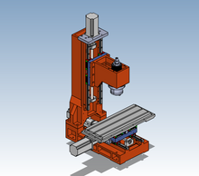 Load image into Gallery viewer, TableTop CNC mill VMC milling machine Cast-Iron Frame kit - OSAIN CNC Router