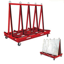 Load image into Gallery viewer, Shockproof shelf Glass transport trolley Stone handling trolley - OSAIN CNC Router