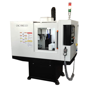 VMC420 Veritcal Cnc Milling Machine Mini Cnc Mill For Aluminum and Steel