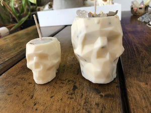 Mini Skull Spell Candles