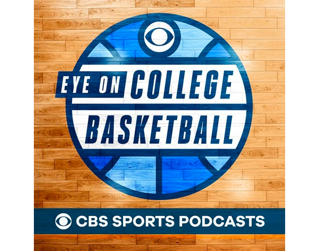PodcastsEye on College Basketball Podcast Logo Embroidered Hat