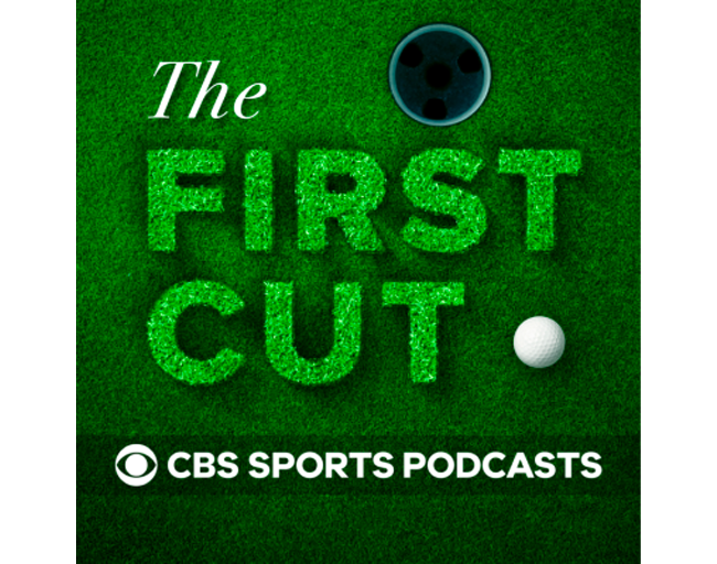 PodcastsThe First Cut Golf Podcast Logo Embroidered Flat Bill Hat