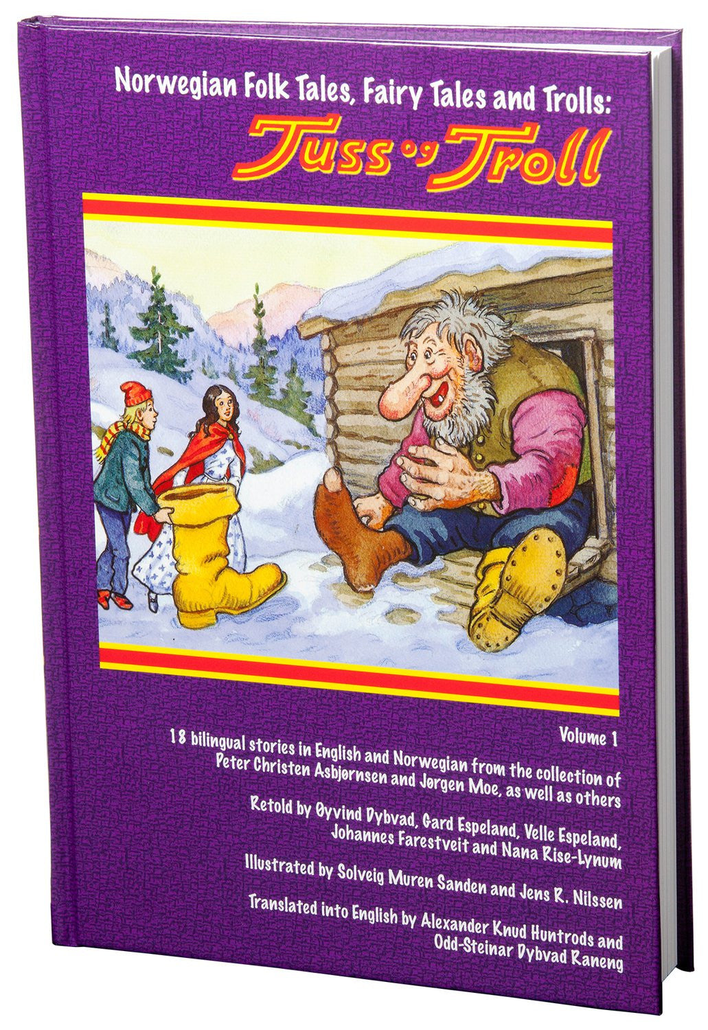 Norwegian Folk Tales, Fairy Tales and Trolls: Tuss og Troll, Volume 1 by Asbjørnsen and Moe