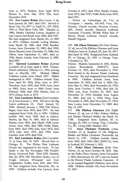 Norwegian Immigrants to the United States, Volume 5, year 1850 by Hedberg and Naeseth