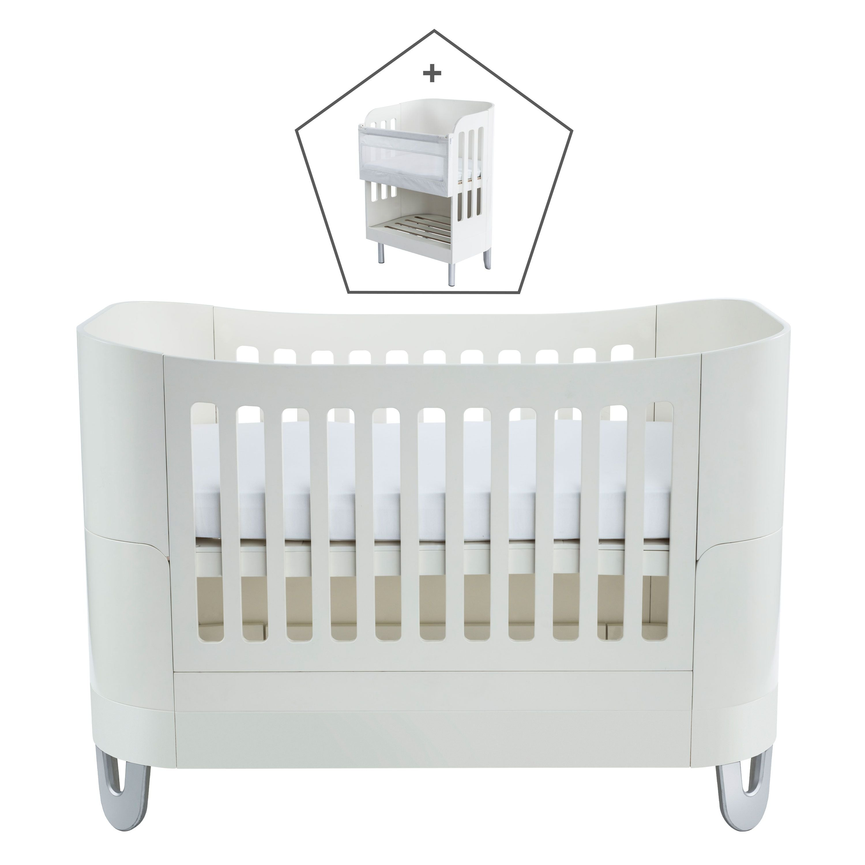Gaia Serena Complete Sleep+/co-sleep - All White