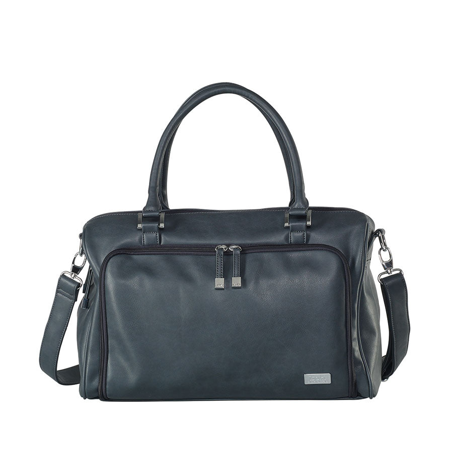 Isoki - Iso Double Zip Satchel Balmain Charcoal