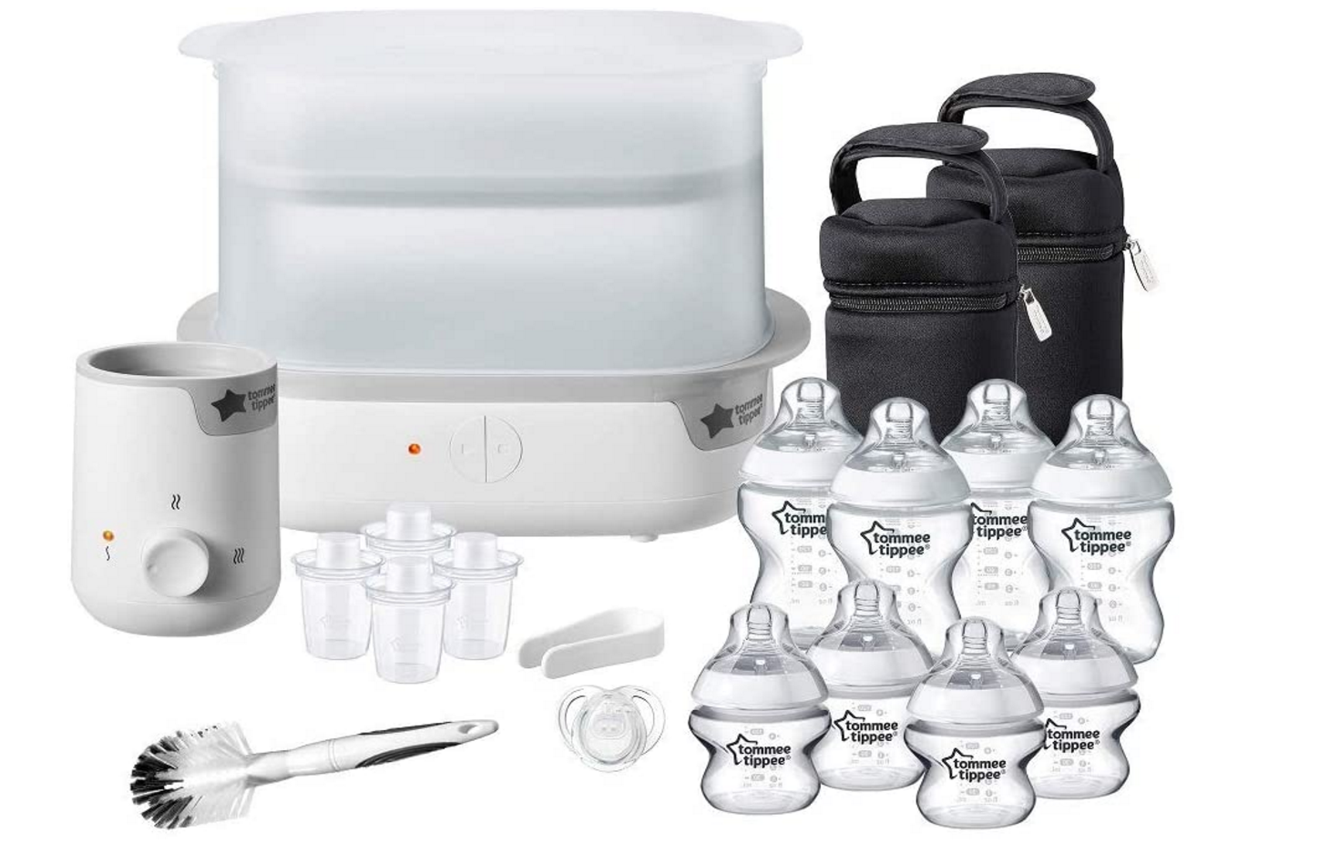 Tommee Tippee - Complete Feeding Set White