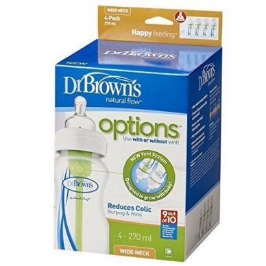 Dr. Browns - Options+ Four Pack 270ml Bottle