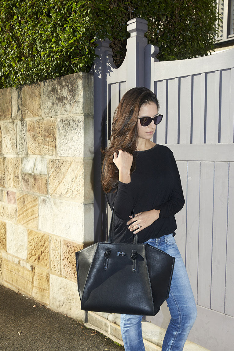 Isoki - Iso Easy Access Tote Toorak Black