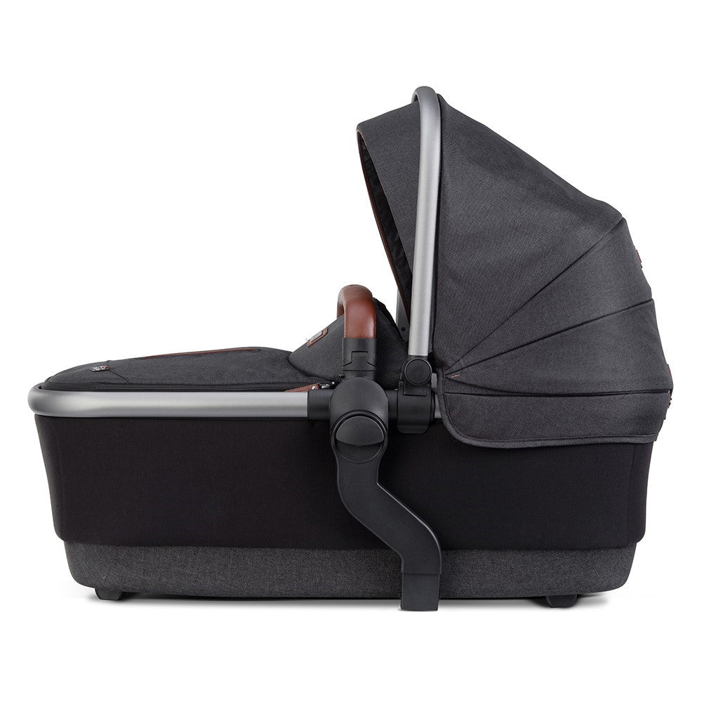Silver Cross Wave Tandem Carrycot - Charcoal