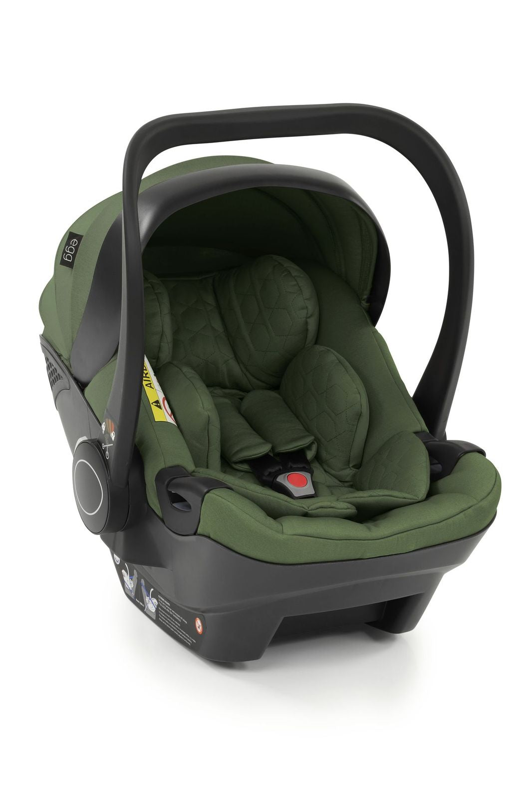 Egg Shell Car Seat - Olive