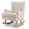 Nested Soothe Easy Chair & Rocker Natural / Beech Wood