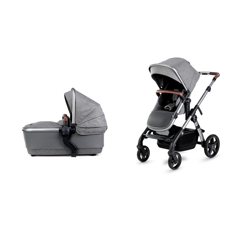 Silver Cross Wave 2020 Zinc with free Simplicity Car Seat