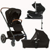 Nuna Mixx Caviar Package With Pipa Lx Car Seat & Base