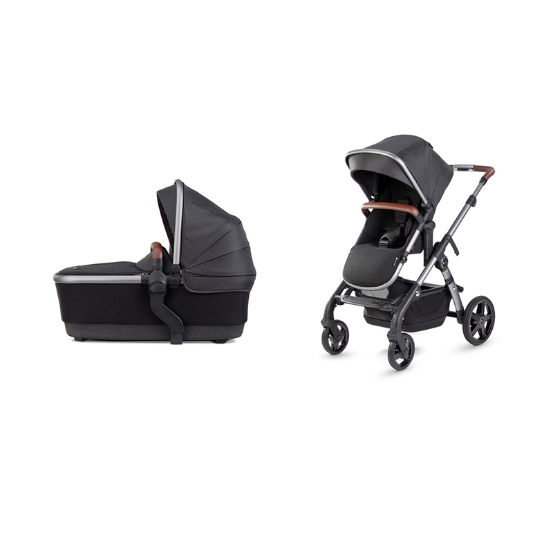 Silver Cross Wave 2020 Charcoal with free Simplicity Car Seat