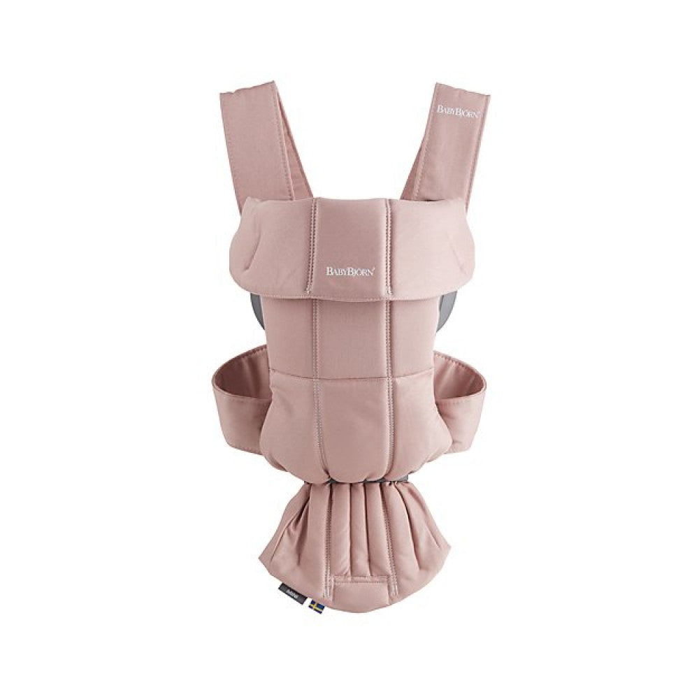 Babybjorn 2019 Mini Carrier Cotton Dusty Pink
