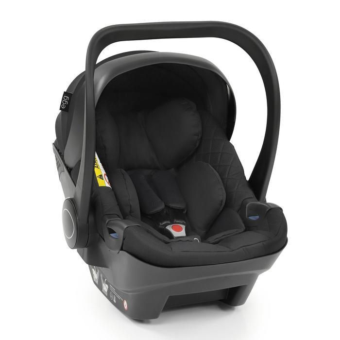 Egg Shell Car Seat Just Black